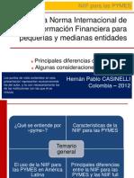 Diferencias NIIF Plenas y PYMES