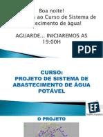 Curso - Sistema de Abastecimento de Água - Aula 1 - Introdução