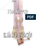 Dia de Expiacion Yom Kippur