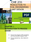 Chapter 1.1 PFD & PID