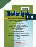 Jurnal Madaniyah Vol. 2 edisi IX Agustus 2015