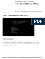 Creating a Network Attached Storage VMware Using Free NAS _ Simon's Blog