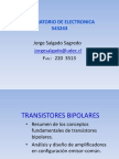 Transistores Bipolares Segunda Parte