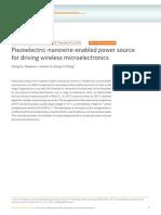 Nature Communications Volume 1 Issue 7 2010 [Doi 10.1038%2Fncomms1098] Xu, Sheng; Hansen, Benjamin J.; Wang, Zhong Lin -- Piezoelectric-nanowire-Enabled Power Source for Driving Wireless Microelectron