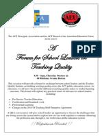 TQI School Leader Forum