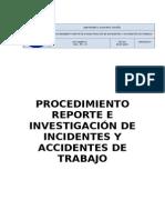 Sgi-pr-01 Procedimiento de Investigacion de Accidentes