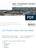 West Seattle Bridge Corridor Presentation