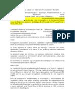 Relación Del Organismo Judicial Con El Derecho Procesal Civil Y Mercantil
