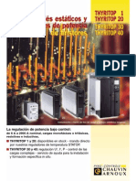 Reles1 Estaticos y Reguladores de Potencia de Tiristores DC THYRITOP