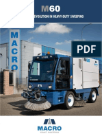 Sweepers Australia New Macroclean M60 Street Sweeper