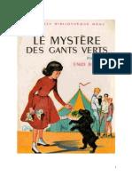 Blyton Enid Fr Série Mystère 2 Le Mystère Des Gants Verts 1950 Barney the Rilloby Fair Mystery