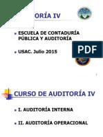 UNIDAD 1 AUDITORÍA IV 2015 MODIFICADA.pdf