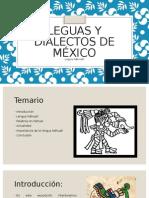 Leguas y Dialectos de México (Lengua Nahualt)