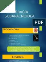 Hemorragia Subaracnoidea Cc
