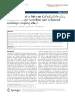A Novel Method to Fabricate CoFe2O4-SrFe12O19