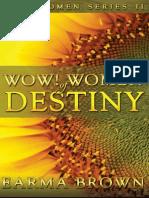 WOW! Women of Destiny Sample Chapter