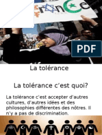 french tolerance