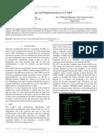Design and Implementation of UART