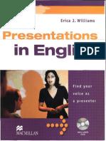 Williams Erica j Presentations in English