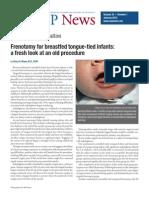 2e. AAP Tongue Tie Frenotomy