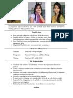 Resume Formats (170)
