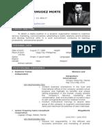 Resume Formats (131)