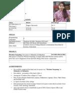 Resume Formats (151)