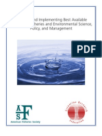 Best Available Science for Fisheries