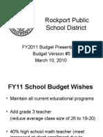 SC Budget Presentation
