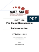 In 003 ISBT 128 for Blood Components an Introduction v3
