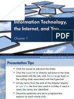 Chapter01 Overview IT Internet and You