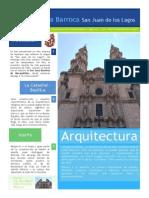 Reporte de Visita Arq. Barroca - San Juan de Los Lagos