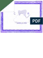 Dream Journal for Precognitive Dream Recall