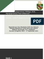 Presentasi Referat Hipopigmentasi