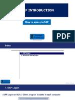 0201 Navigation - How to Access SAP