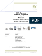 BelAir Ericsson Wi-Fi RFQ Technical Responses Final