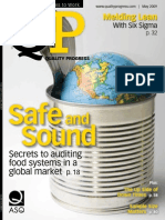 ASQ Quality Progress Magazine May 2009
