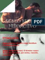Trastorno Sexual Hipoactivo y Trastorno Por Aversion Al Sexo