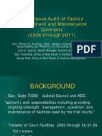 Compliance Audit of Facility Management