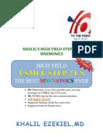 CS Blue Sheet Mnemonics - USMLE Step 2 CS - Www medical