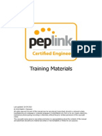 Peplink Certified Engineer Training Program