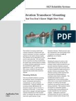 Vibration Transducer Mounting