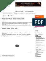 Marinetti e il Futurismo |