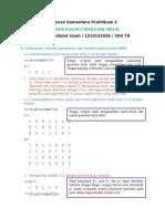 Laporan Sementara Praktikum kode siklik