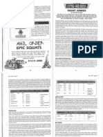 Epic 40k 3rd Edition Squat Army List