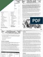 Epic 40k 3rd Edition Scenario Rules