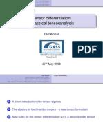 tensor differentiation slides