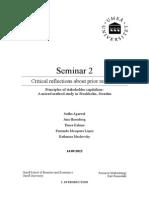 Seminar II - Proof Read