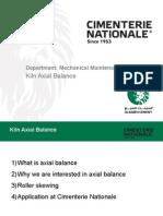 Kiln Axial Balance
