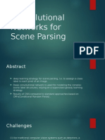 Deep Convolutional Networks for Scene Parsing
